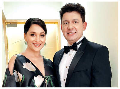 Madhuri's hubby knew only this B'wood actor