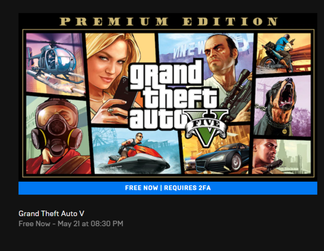 How to download GTA V for free via Epic Games Store, once the servers are back online