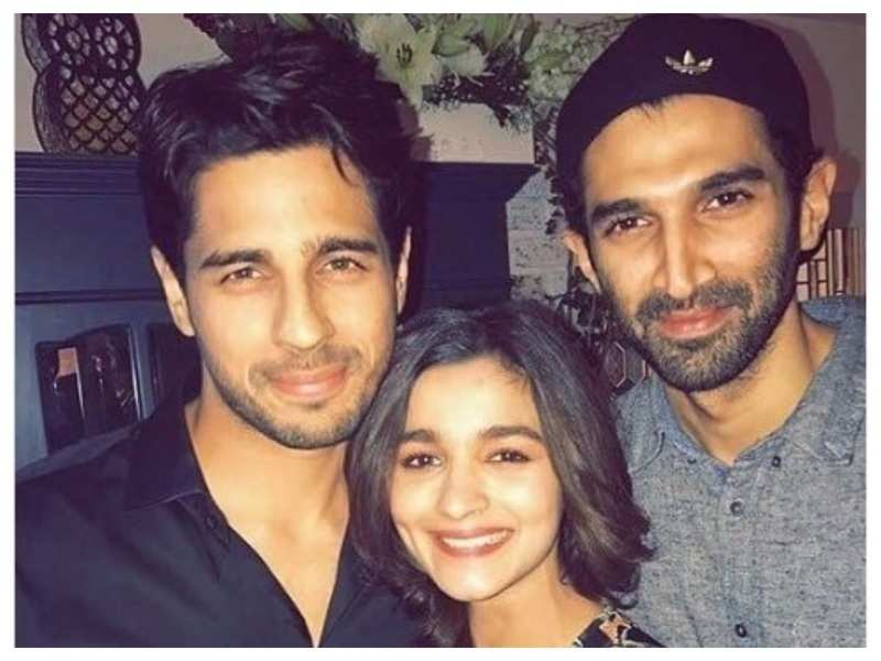You just cannot get over these happy faces of Alia Bhatt, Sidharth Malhotra and Aditya Roy Kapur in this throwback picture!