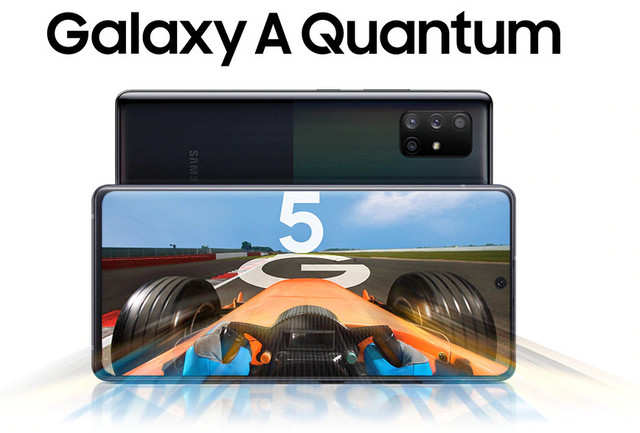Samsung Galaxy A Quantum is the world's first 5G smartphone with quantum security chip