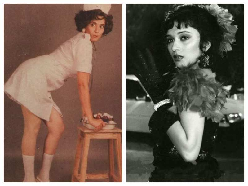 THESE stunning throwback pictures of 'Dhak Dhak' girl Madhuri Dixit is a treat for the sore eyes