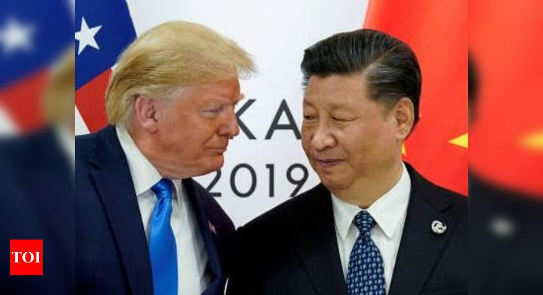 Donald Trump:  US, China ties in tailspin amid punitive threats; India too caught in the middle – Times of India
