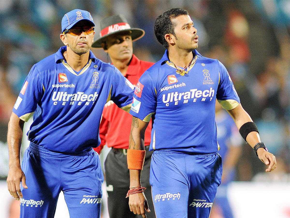 Sreesanth denies Upton's claims, says he never had any argument with Dravid during 2013 IPL   Cricket News - Times of India