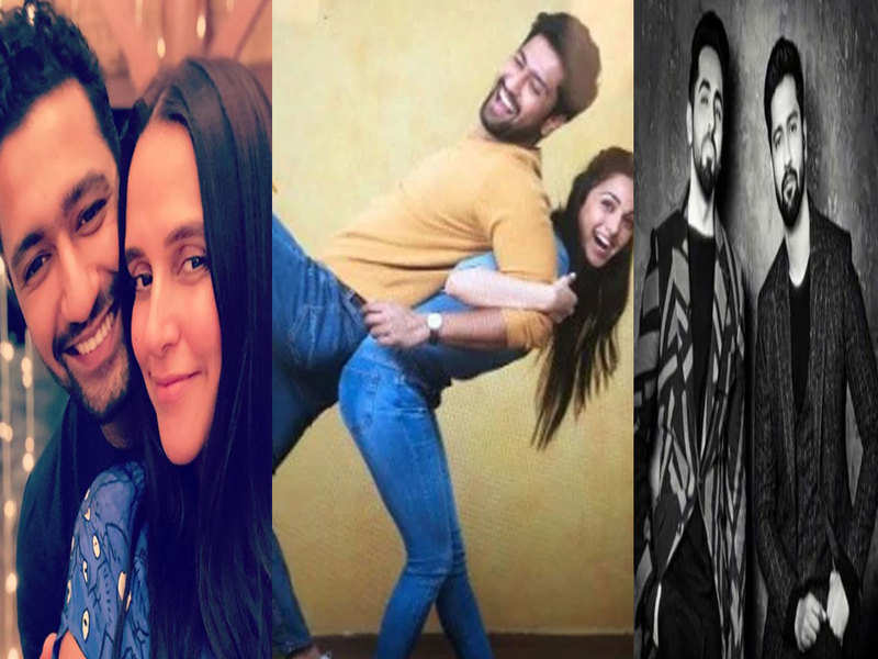 Taapsee Pannu, Katrina Kaif, Karan Johar and other stars pour in wishes as Vicky Kaushal turns 32