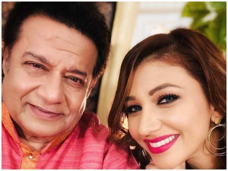 Anup Jalota with Jasleen Matharu