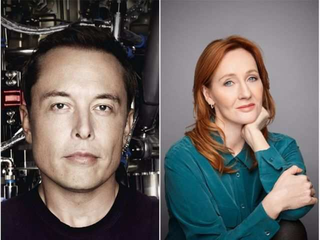 Tesla CEO Elon Musk explains what is Bitcoin to Harry Potter author JK Rowling