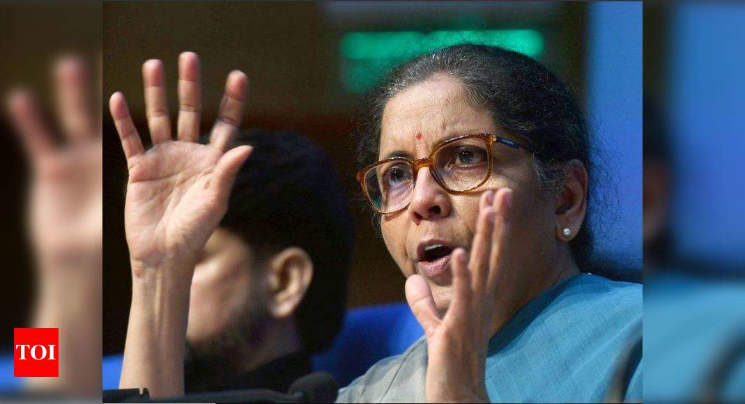 Govt package only worth Rs 3.22 lakh crore and 1.6% of GDP, not Rs 20 lakh crore: Congress | India News – Times of India