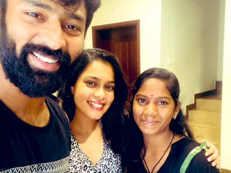 Shanthnu reveals the camerawoman of his short film