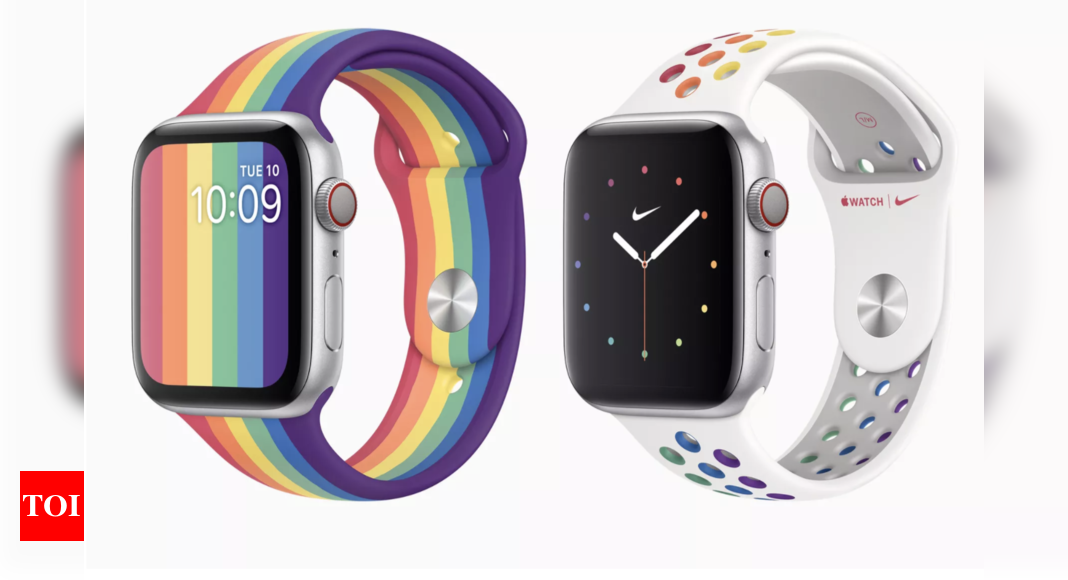 Apple launches new Watch Series bands – Times of India