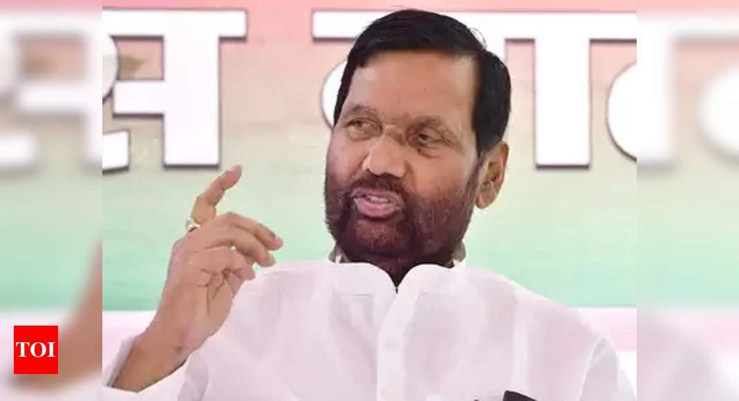 Covid 19 Ram Vilas Paswan S Office Food Ministry In Krishi Bhawan Sealed India News Times Of India