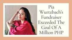 Pia Wurtzbach's Fundraiser Exceeded The Goal Of 1 Million PHP