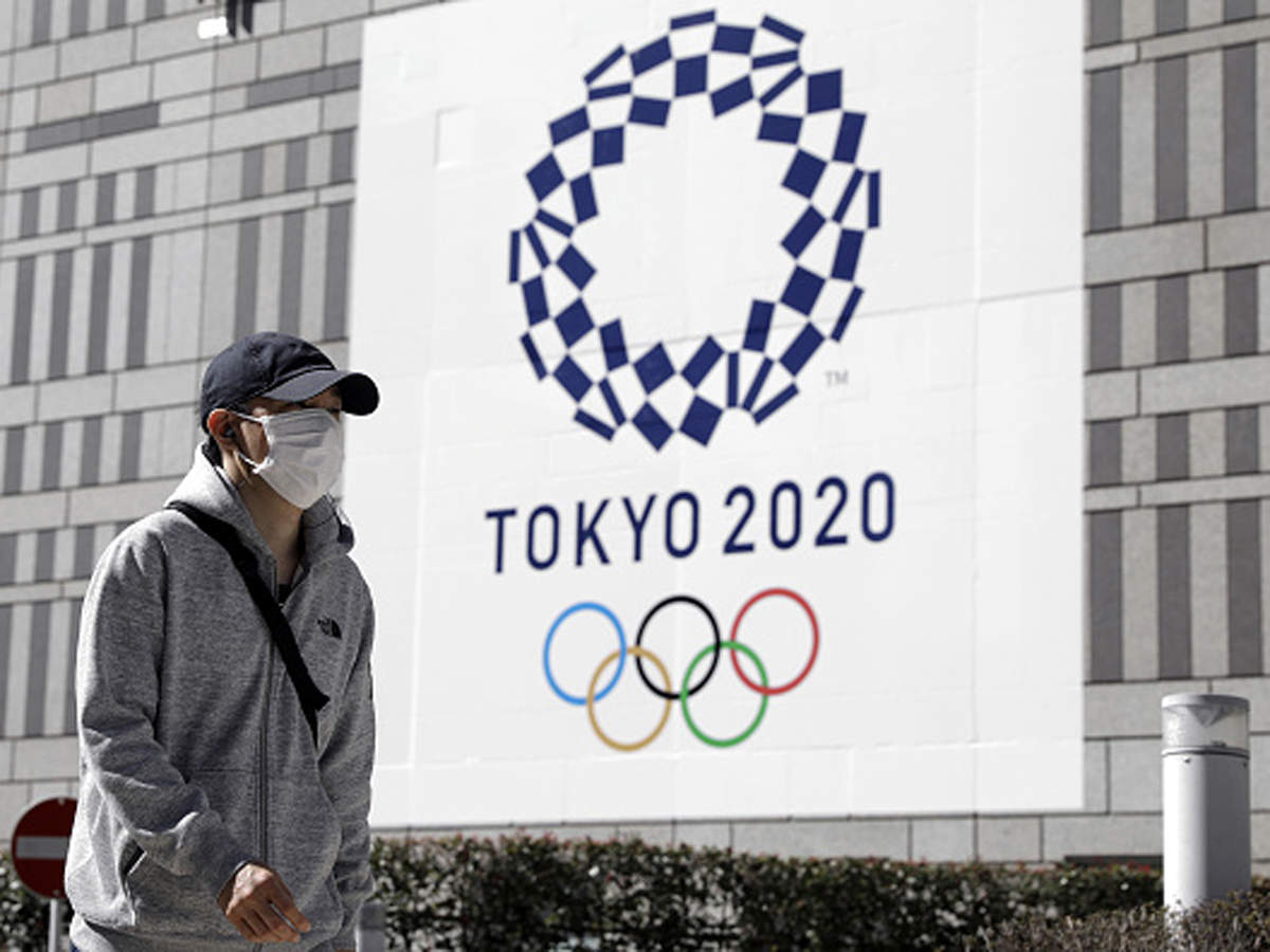 Tokyo Olympics Logo: Tokyo Olympics protest parody of logo that depicts COVID-19   Tokyo Olympics News - Times of India