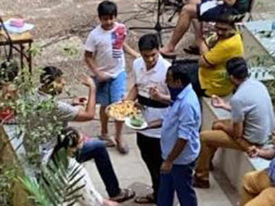 Members of the housing society arrested by the Samosa party in Mumbai | Mumbai News