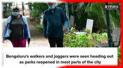 Bengalureans head back to the parks