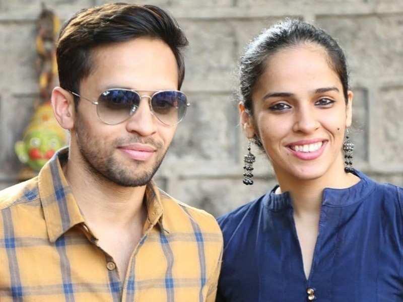 Saina flaunts hubby Kashyap's hidden talent