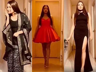 Himanshi Khurana turns her home into runway