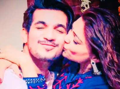 Arjun-Neha's romantic anniversary video