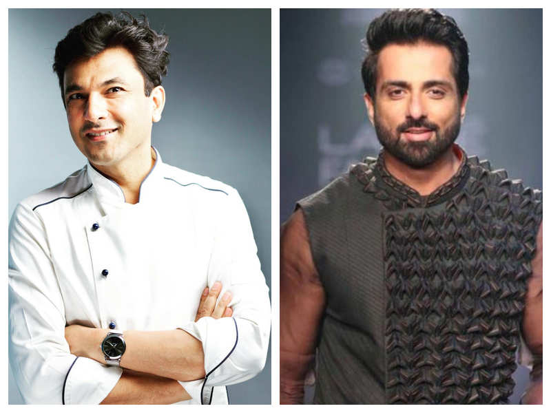 Chef Vikas Khanna's tribute to Sonu Sood for his charity works will bring a smile on your face