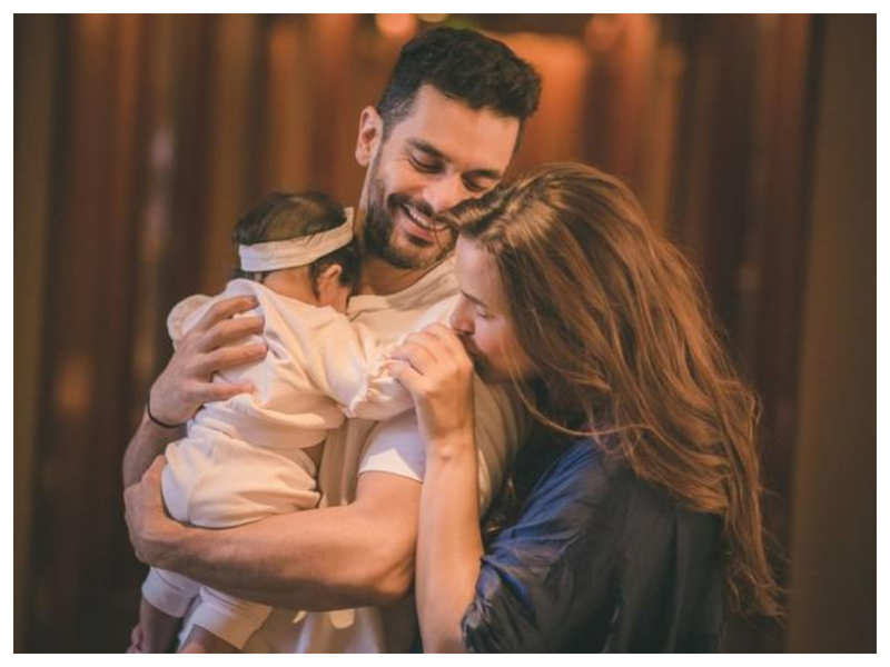 "Exclusive! ""Mehr is an extension of my wife more than me"", says Angad Bedi who feels Neha Dhupia has raised her in the most passionate way"