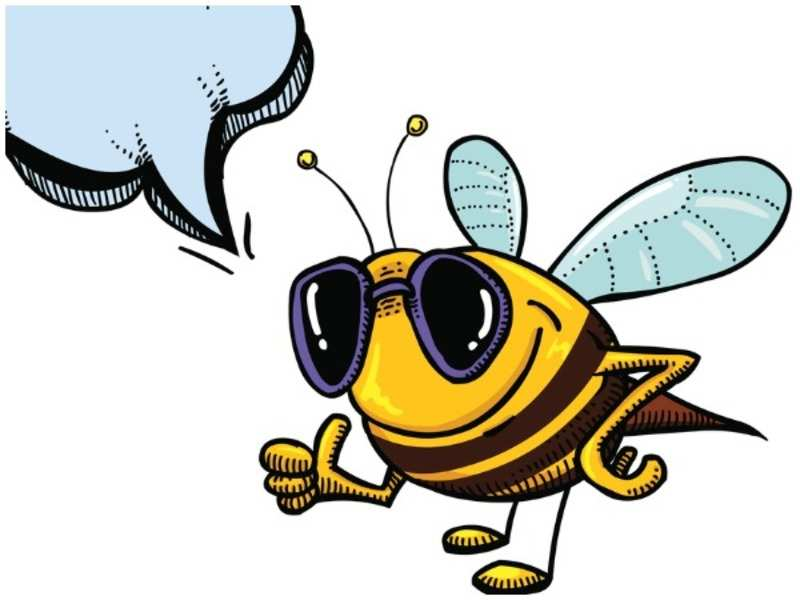 The bee motif has been quite popular on the fashion scene