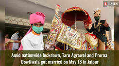 Strict social distancing, baraat sans band-baaja at this wedding in Jaipur amid lockdown