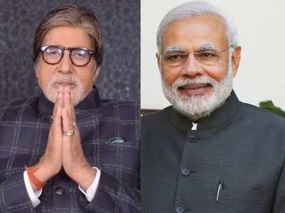 Big B congratulates PM's for 'Ayushman Bharat'