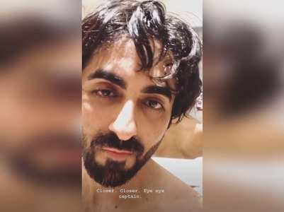 Fans go gaga over Ayushmann's shirtless video