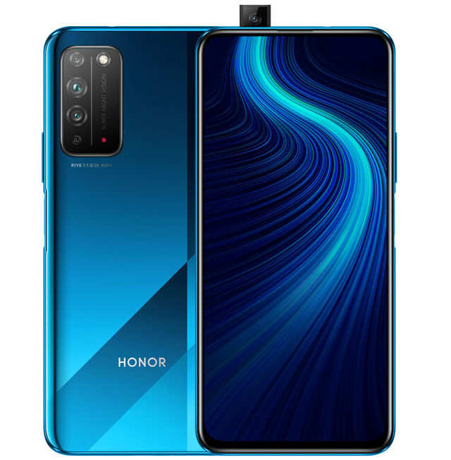 Honor X10 smartphone with triple rear camera launched