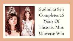Sushmita Sen Completes 26 Years Of Historic Miss Universe Win
