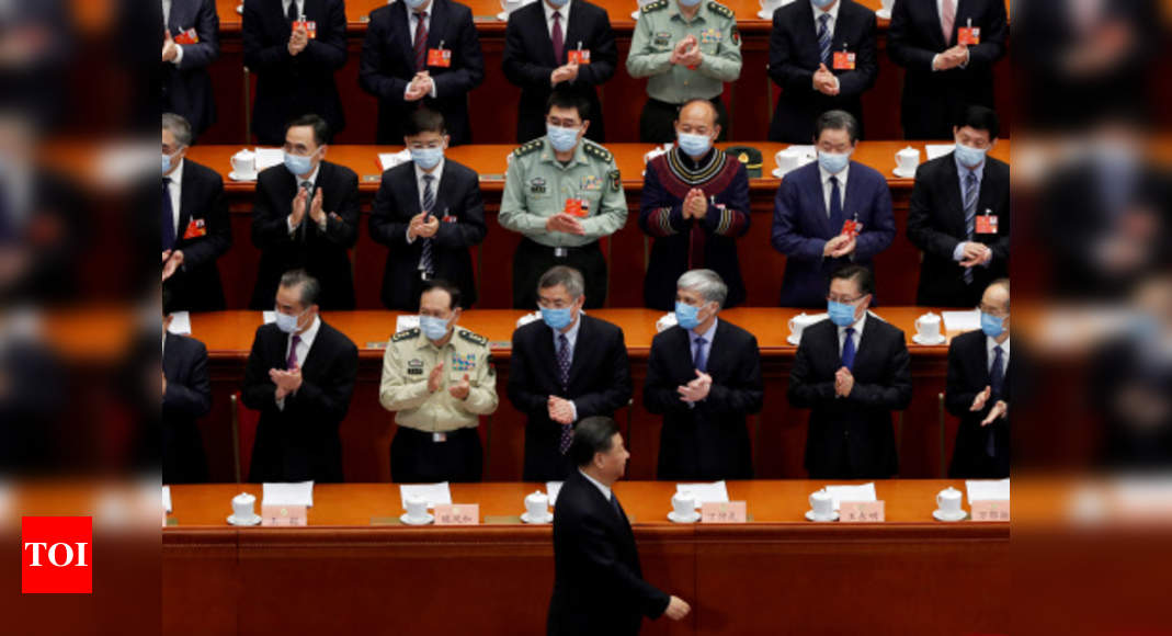 China kicks off delayed annual Parliament session as Covid-19 abates – Times of India