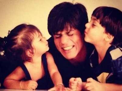 Adorable childhood pics of Suhana Khan