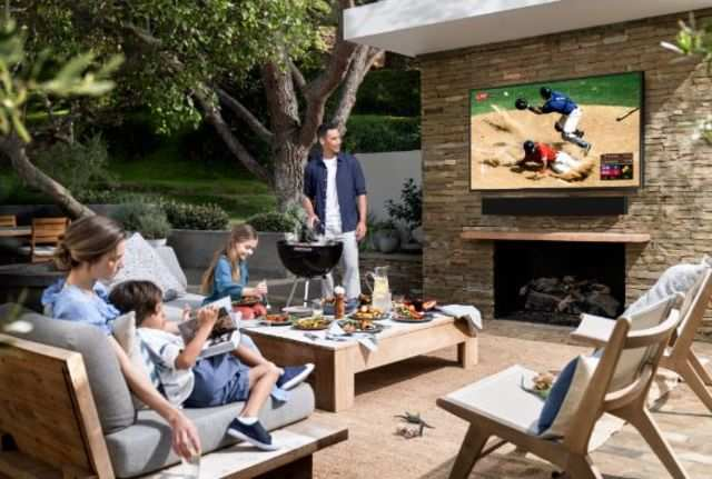 Samsung launches a 'waterproof' 4K TV that you can put in your terrace in the US, may come to India later this year