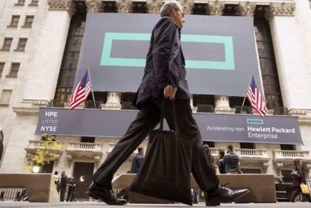 HP Enterprise lays out $1 billion savings plan, pay cuts