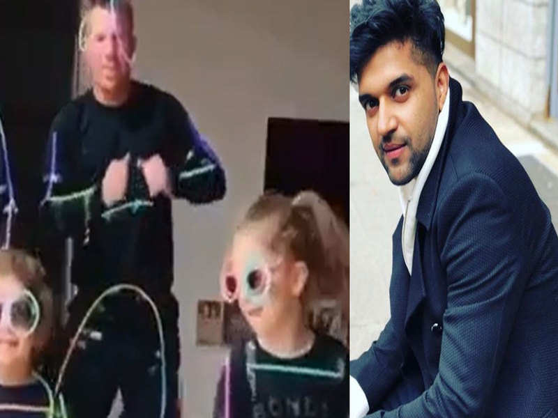 Cricketer David Warner shakes a leg on Guru Randhawa's 'Slowly Slowly' with family, and it's something you can't miss