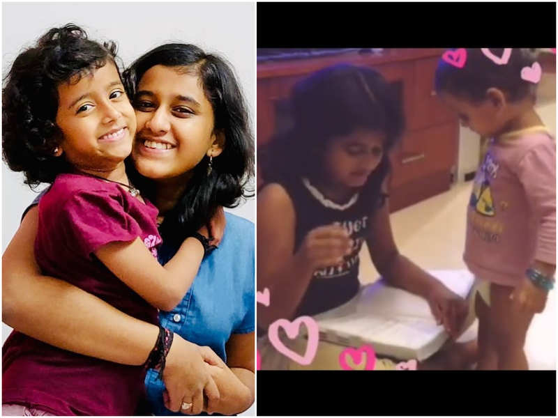 Watch: This throwback video of Top Singer fame Ananya and Aditi is too cute to be missed