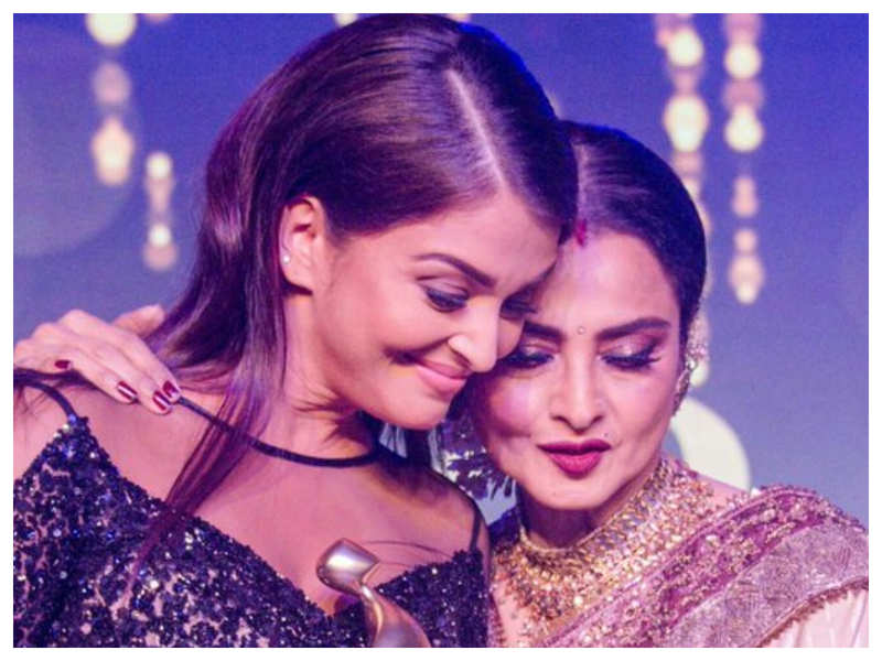 Flashback Friday: THIS old letter sent by Rekha to Aishwarya Rai Bachchan is simply unmissable!