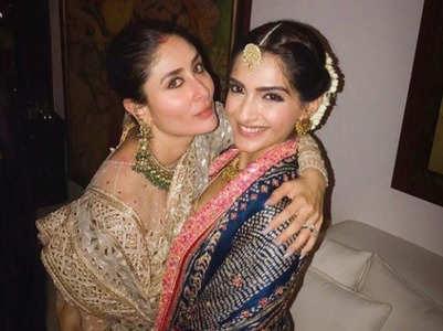 Pic: Kareena-Sonam stun in ethnic wear
