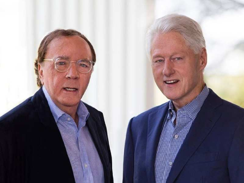 James Patterson and Bill Clinton (Photo: James Patterson/ Facebook)