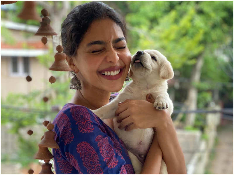 Meet Aishwarya Lekshmi's little friend Bruno!