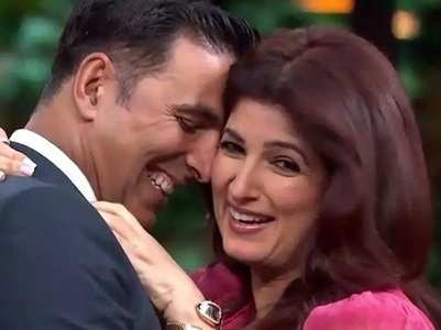 When Twinkle praised Akki's extra inches