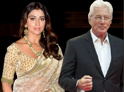 When Shriya Saran was floored by Richard Gere