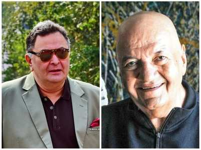 Prem Chopra opens up on meeting Rishi Kapoor