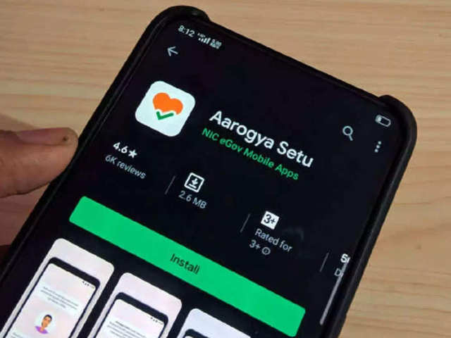 No, Aarogya Setu app does not give out a 'loud siren'