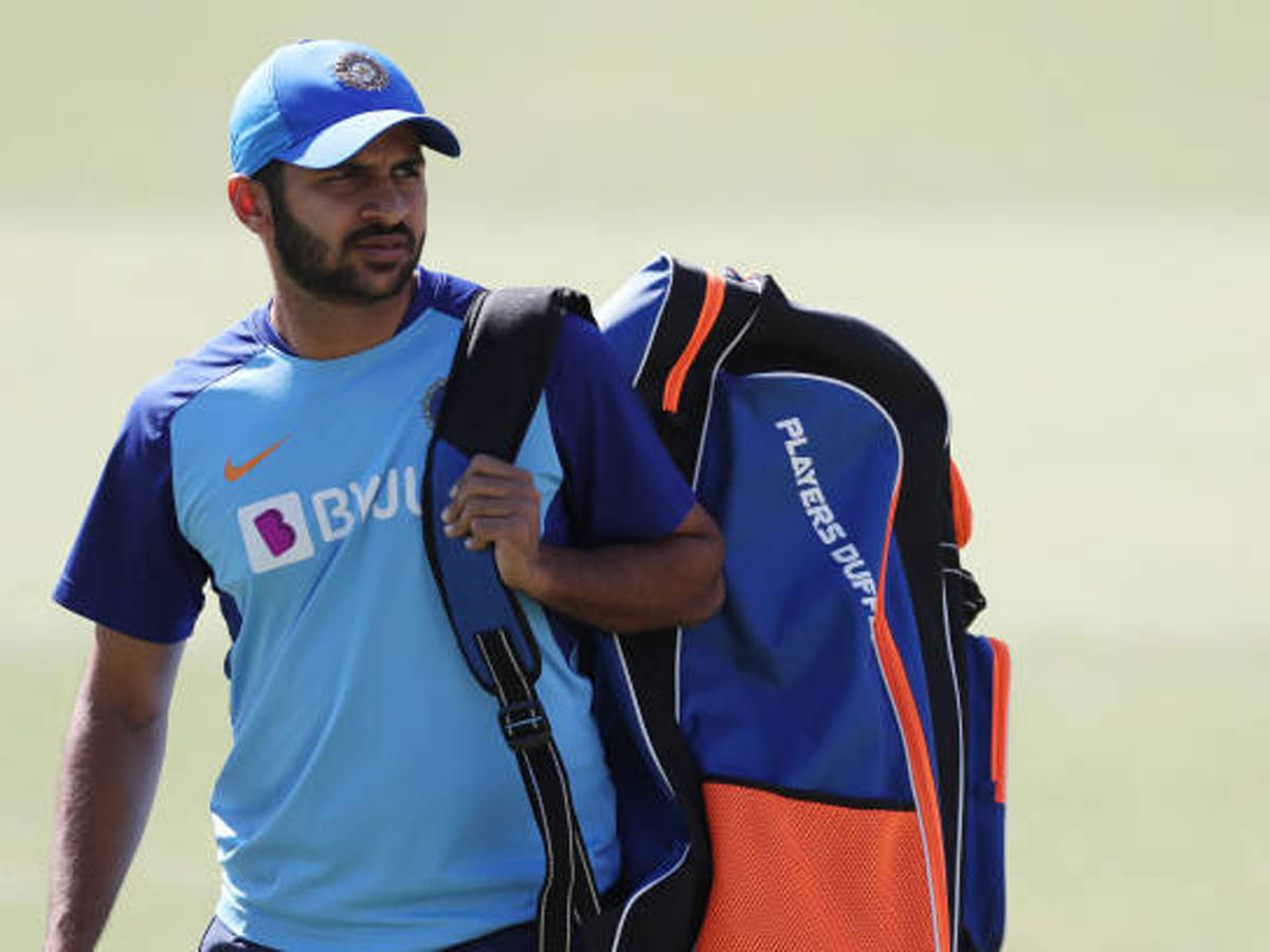 Shardul Thakur First India Cricketer To Return To Training Cricket News Times Of India