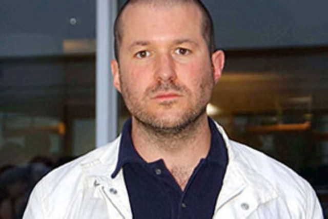 Apple's design chief Jonathan Ive