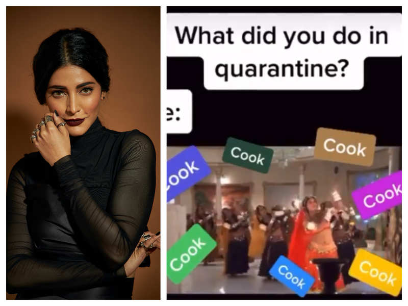 Shruti Haasan has a funny reply for those who ask her what she did in quarantine
