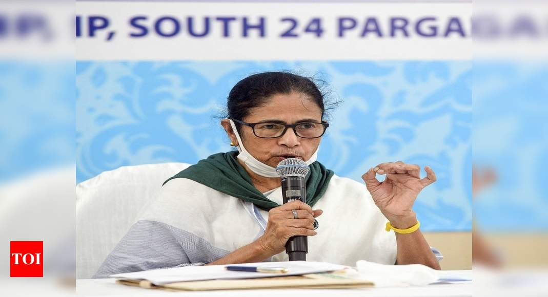 Don't indulge in politics, have patience: Mamata after protests in several areas in West Bengal | India News – Times of India