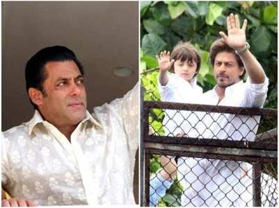 How SRK-Salman celebrated Eid last year