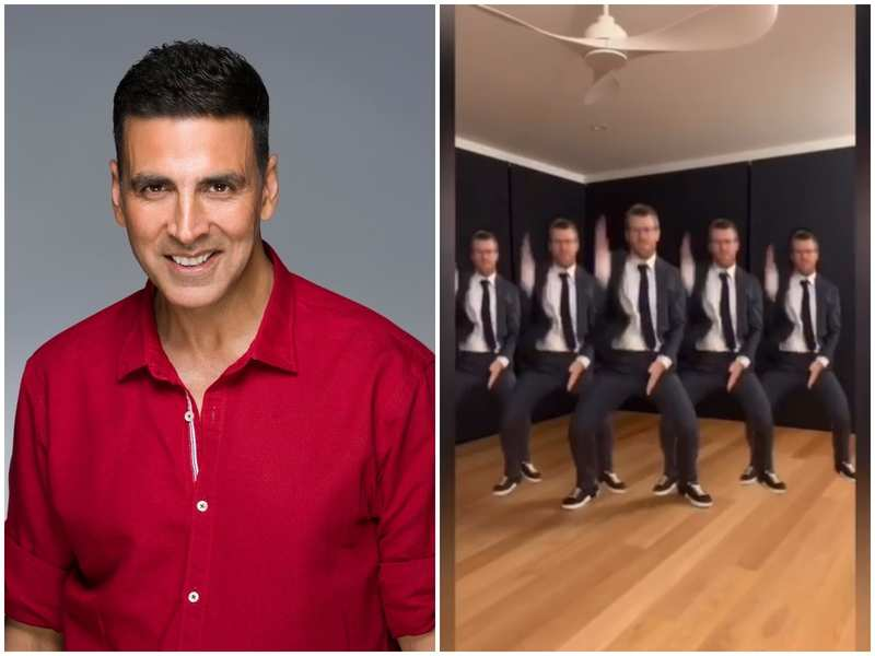 Akshay Kumar is all praise for cricketer David Warner 'Bala' dance moves; says 'Absolutely! Nailed it'