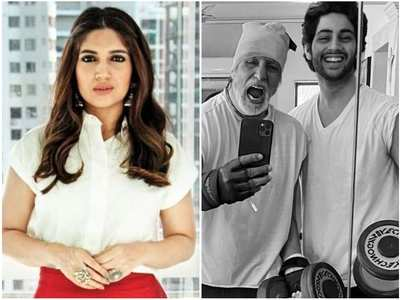 Bhumi Pednekar-Big B's social media banter